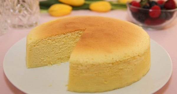 "See-Why-The-World-Is-Crazy-For-""Japanese-Cheesecake""-–-Only-3-Ingredients-Are-RequiredVIDEO"
